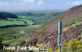 North York Moors & Coast Keyrings (Size: 5.5cm x 4cm) image