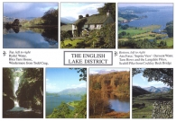 The English Lake District A4 Greetings Cards