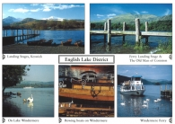 English Lake District A4 Greetings Cards