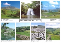 The Yorkshire Dales A4 Greetings Cards
