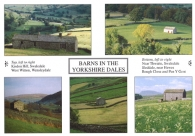 Barns in the Yorkshire Dales A4 Greetings Cards