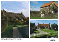Moorland Cottages A5 Greetings Cards