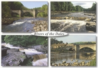 Rivers of the Dales A5 Greetings Cards