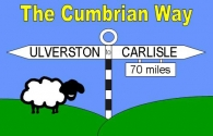 The Cumbrian Way Picture Magnets