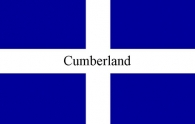 Cumberland Flag Picture Magnets