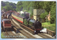 North York Moors Railway postcards