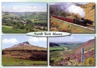 North York Moors postcards