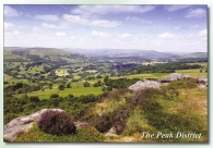 The Peak District (The Hope Valley from Over Owler Tor) postcards