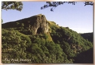 The Peak District (Thor's Cave, Manifold Valley) Postcards
