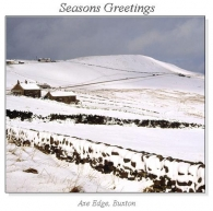 Axe Edge, Buxton Christmas Square Cards