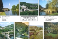 The English Peak District postcards