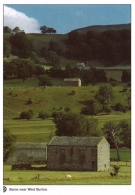 Barns near West Burton postcards