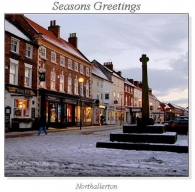Northallerton Christmas Square Cards